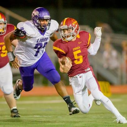 Video: Ithaca defeats Dryden football highlights