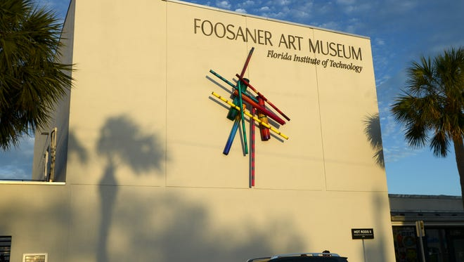 The Foosaner Art Museum in downtown Eau Gallie.
