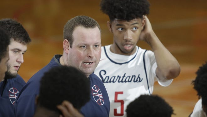 Comeaux coach Jeremy Whittington and his Spartans began as a No. 11 seed, but await to see if that seed will change before Friday's first-round playoff game.