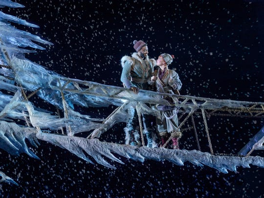 """Frozen"" on Broadway features Jelani Alladin as Kristoff"