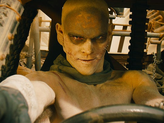 Josh Helman as Slit in 'Mad Max: Fury Road.'