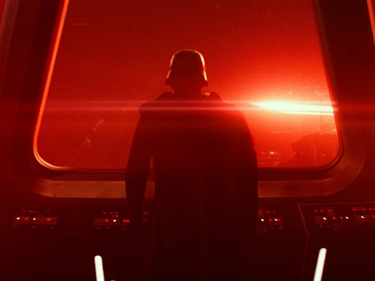"""This photo provided by Disney/Lucasfilm shows a scene from the new film, """"Star Wars: The Force Awakens,"""" directed by J.J. Abrams."""