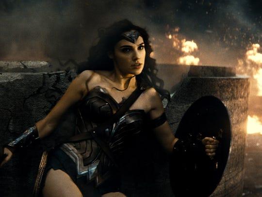 Wonder Woman (Gal Gadot) lives for battle in 'Batman