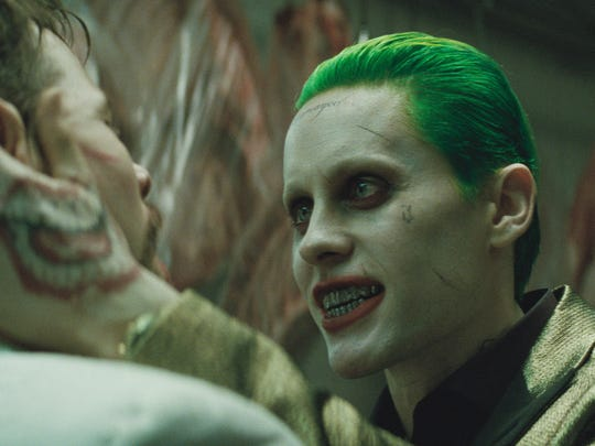 "The Joker (Jared Leto) surfaces in ""Suicide Squad."""