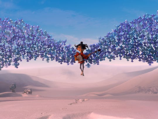 "In ""Kubo and the Two Strings,"" Kubo is swept up by"