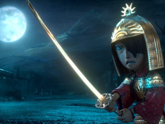 "In ""Kubo and the Two Strings,"" Kubo faces the Moon"