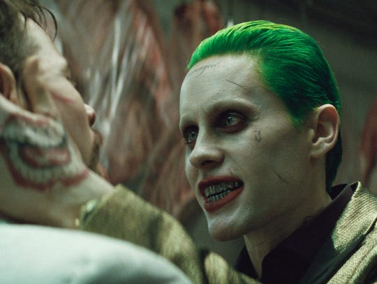 Jared Leto stars as a contemporary Joker in 'Suicide