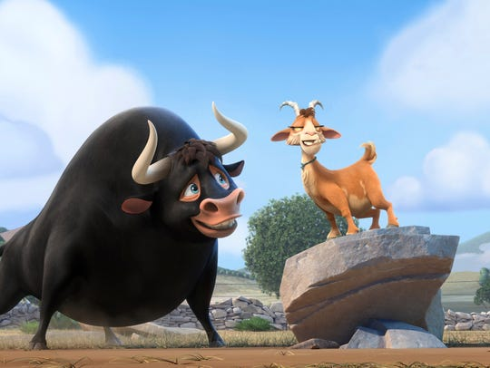 "The animated ""Ferdinand"" is set in Spain and inspired"