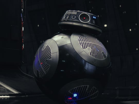 """BB-9E was referred to as BB-""""hate"""" during filming."""