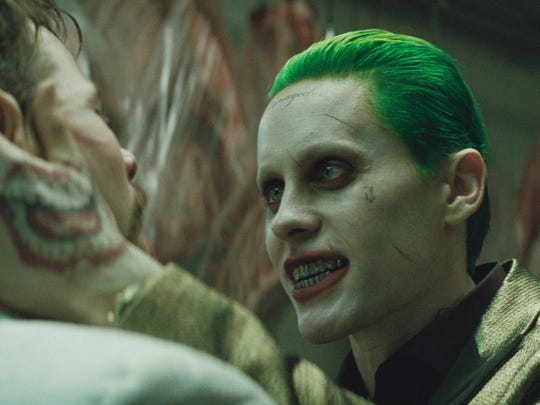 """Jared Leto stars as a contemporary Joker in """"Suicide"""
