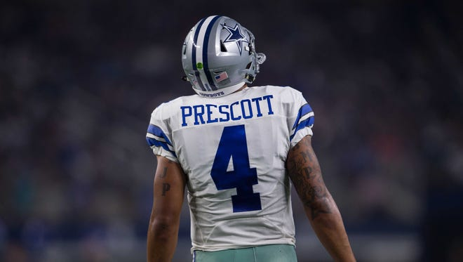 Mississippi State coach Dan Mullen fielded more questions about Dak Prescott on Wednesday than his current quarterbacks.