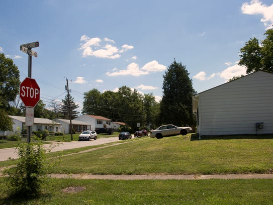 This home in Colerain was the scene of a shooting the