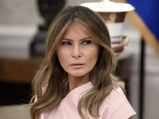 94b5c361ae164 Melania Trump expected in Arizona to tour immigration facilities