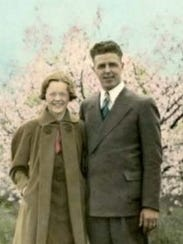 Ethel and Earl Rasmussen of Oconto, who took a month-long