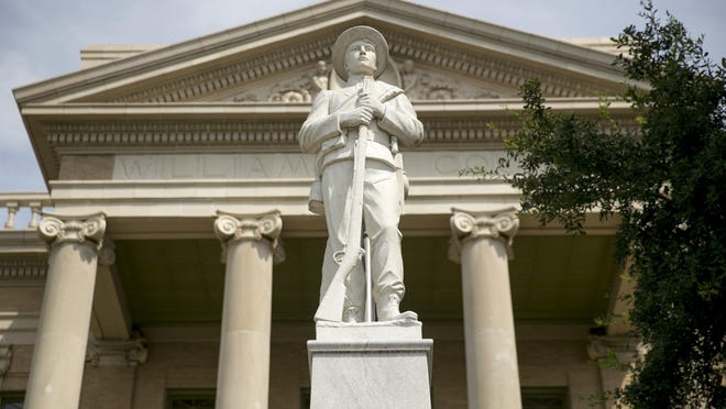 Williamson County commissioners on Tuesday approved forming a committee to study whether the Confederate statue at the courthouse should be moved.