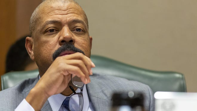 """We have been asking -- myself, my colleagues and people of color -- have been asking the government with no answers. It's like we don't exist,"" state Sen. Borris Miles said."