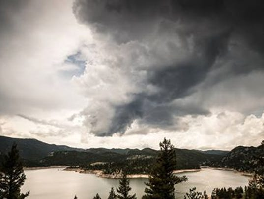 Gross Reservoir Boulder Mark Englert