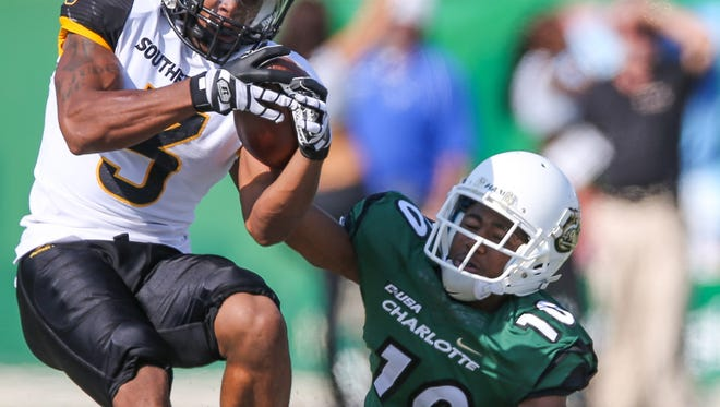 Defensive back Cornell Armstrong and Southern Miss are one win away from being bowl eligible.
