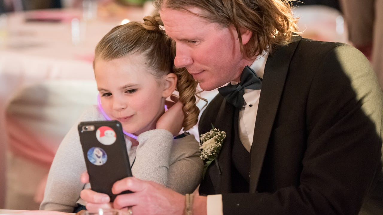 The Greencastle-Antrim Education Foundation host its annual Father Daughter dance at Green Grove Gardenson Friday, March 24, 2017 in Greencastle, Pa.