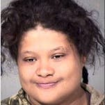 Karla Banegas-Banegas was arrested and is accused of transporting marijuana and punching a U.S. Border Patrol horse in its face.