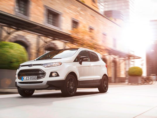Ford to reveal new small EcoSport SUV in LA on Monday