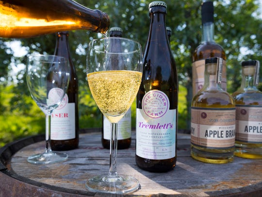 The Cider Farm in Mineral Point uses French and English