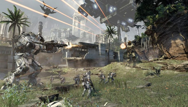 'Titanfall,' arriving March 11 on Xbox One.