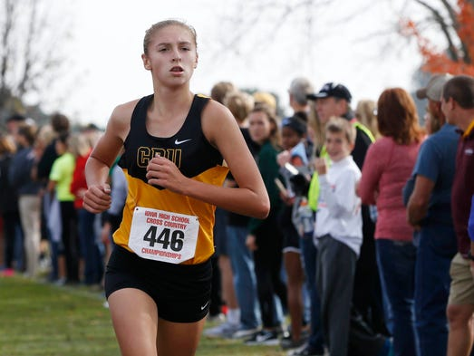 center cross girls Sept 26, 2015 high school girls cross country at liberty center (oh) widewater invitational.