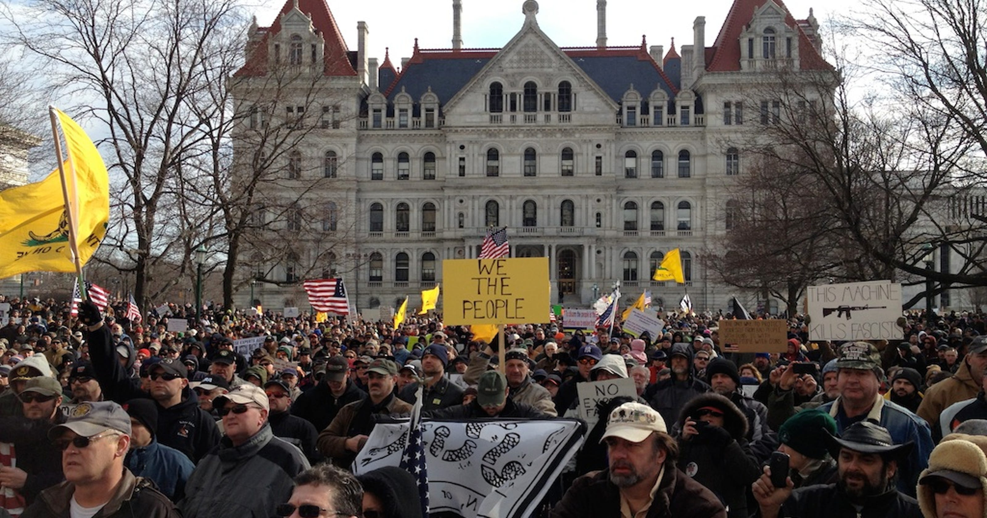 New gun-control laws coming to New York: six years after the