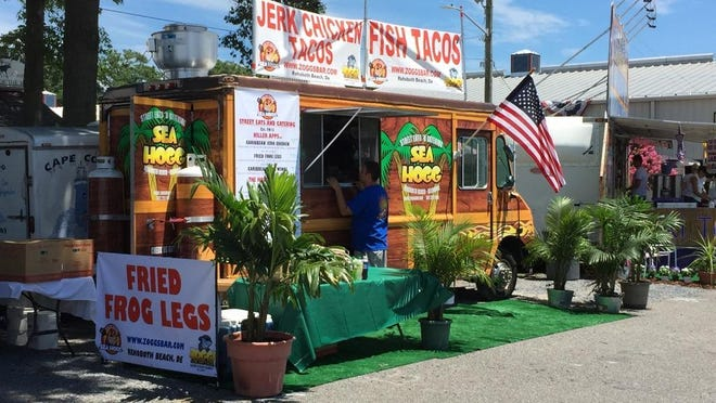 In addition to serving the masses at local events, the Sea Hogg food truck from Zogg's Raw Bar and Grill in Rehoboth Beach offers catering services for private parties.
