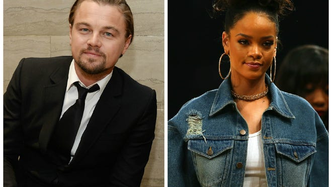 (DiCaprio: WireImage; Rihanna: Getty Images)