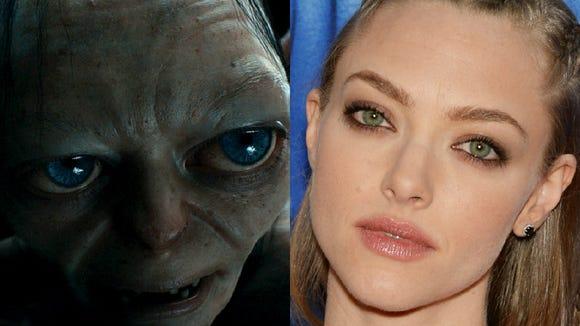 Amanda Seyfried Gollum