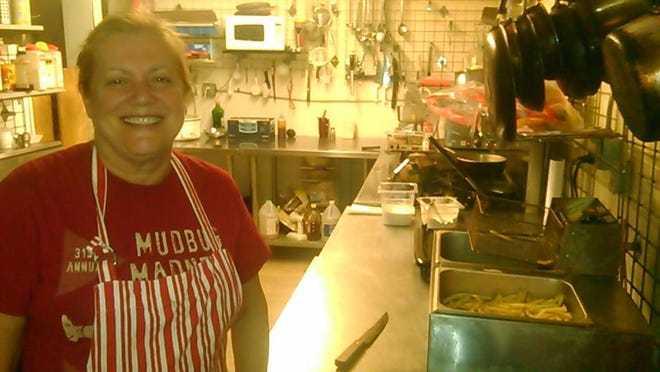 Blue Southern Comfort owner Carolyn Simmons in the kitchen at the current location on Louisiana Avenue.