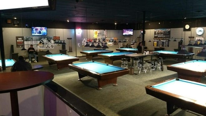 """""""We really want to be a pool hall that everyone is welcome at,"""" says General Manager Kevin Frank."""