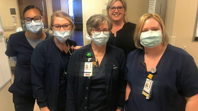 The Acute Care nurses at SSM Health St. Anthony Hospital Shawnee.