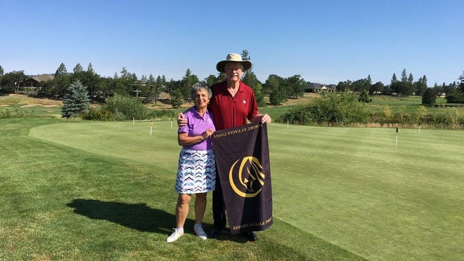 Emily and Jim Mangam have played golf in all 50 states.