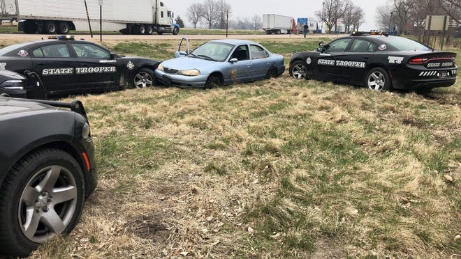 Troopers with the Nebraska State Patrol (NSP) have arrested a York man following a pursuit on Interstate 80 that began near Lexington and ended near Kearney.