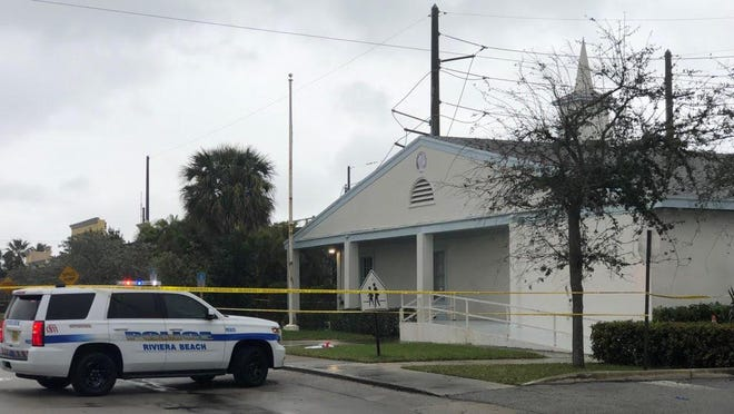 Three people were shot in the street in front of Victory City Church in Riviera Beach Saturday afternoon following a funeral service. A 47-year-old man and a 15-year-old Deerfield student died at the scene. A 30-year-old woman is hospitalized with non-life-threatening injuries.