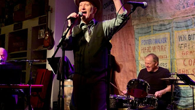 """Makky Kaylor and his Swanky South Players perform Saturday, Feb. 8, 2020 at Puckett's in downtown Columbia. In addition to his birthday, Kaylor is also celebrating the release of his new album """"Live from The Swanky South"""" recorded at Puckett's in October 2019."""