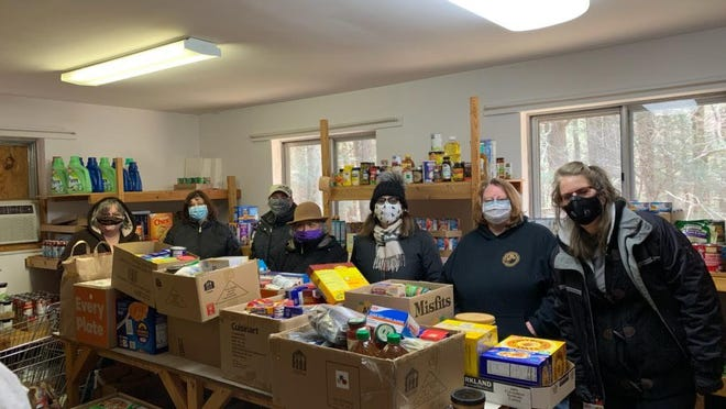 Pictured our staff from Classic Properties, who hosted a food drive for C.A.M.E. food pantry in Canadensis.