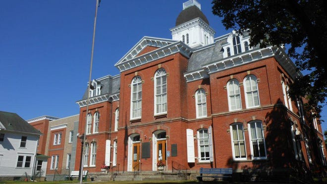 The Pike County Courthouse in Milford.
