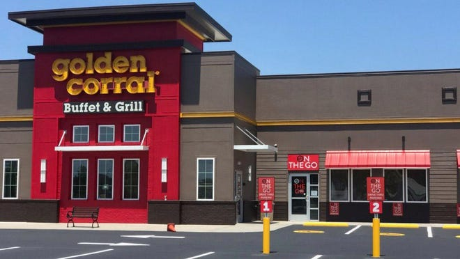 Golden Corral, located at 2055 North Marine Boulevard in Jacksonville reopened their doors for dine-in on Thursday and is offering the first ever drive-thru option for the buffet chain.