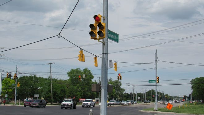 The Ohio Department of Transportation has started a $2.3 million resurfacing project on West Dublin-Granville Road between Olentangy River and Sawmill roads. The work, which commenced June 1 and is scheduled to conclude by the end of July, began at Sawmill and West Dublin-Granville near Dublin, the intersection pictured above, and will work its way east, according to Brooke Ebersole, a spokeswoman for ODOT's District 6.