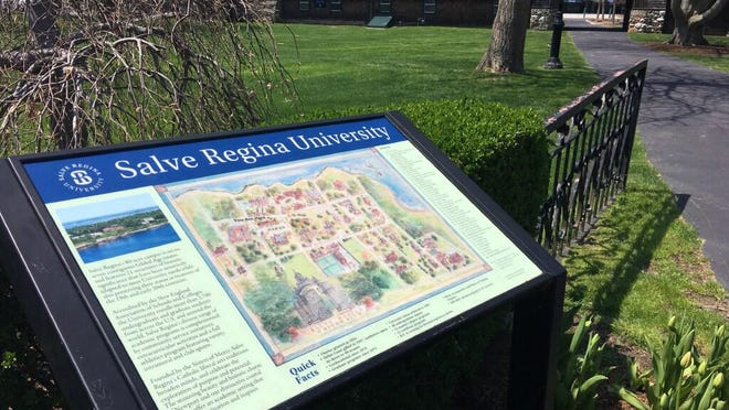 Published Caption: Salve Regina University is preparing for the return of students in the fall.