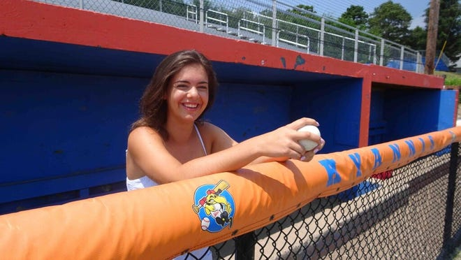 Northwestern University graduate and self-starter Katie Krall helped create a baseball operations intern role with the Cape League's Hyannis Harbor Hawks in the summer of 2017. Now she's landed a position in the big leagues.