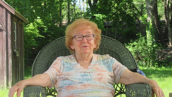 Muriel Savoy Moloney, shown in 2019 at age 89, in her Weymouth home.