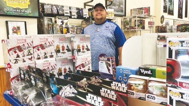 Kirby Whited has expanded his inventory and offers gaming opportunities.