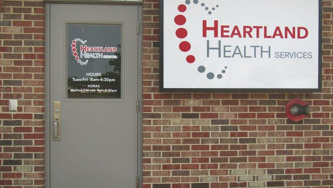 The new Heartland Health Services clinic at 3248 Van de Ver Ave., Pekin, will stop offering COVID-19 testing on Wednesday.