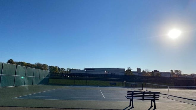 All's quiet at Pekin's John Moss Courts after a girls tennis season that tested players' resiliency as much as their tennis skills.