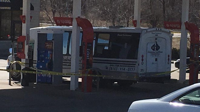 Three people were shot and killed on April 7, 2018, while inside a private charter bus in Rockford. Raheem D. King, 24, is on trial for the crimes this week.